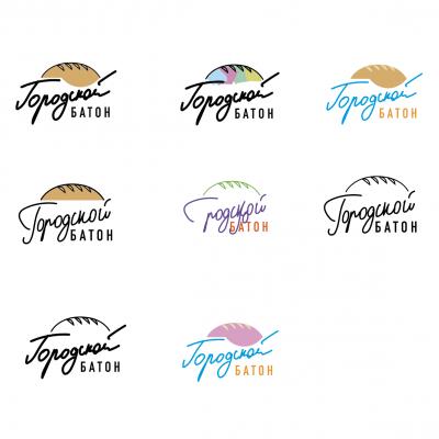 Colour logo sketch