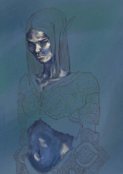 forest-elf-painting-progress_Sofia-Efremenko